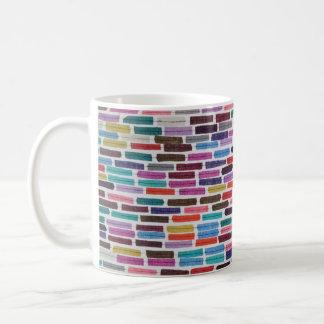 ダッシュ、ドアおよび材料見本の小型コラージュ コーヒーマグカップ