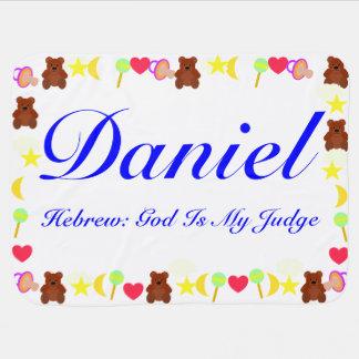 ダニエルのベビーブランケットのテンプレート ベビー ブランケット
