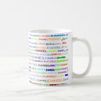 ダニエルの文字デザインなIIマグII コーヒーマグカップ