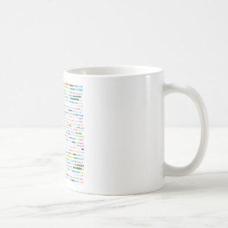 ダニエルの文字デザインなIIマグIII コーヒーマグカップ