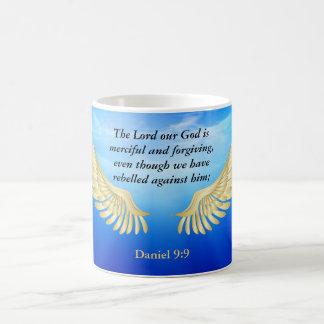 ダニエルの9:9 コーヒーマグカップ