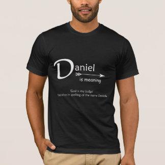 ダニエルのTシャツ Tシャツ