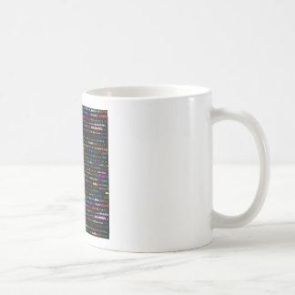 ダニエル文字デザインなIのマグIII コーヒーマグカップ
