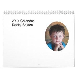ダニエル2014のカレンダーII カレンダー