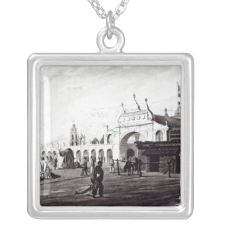 ダニエルHavell 1820年が刻む市場 シルバープレートネックレス