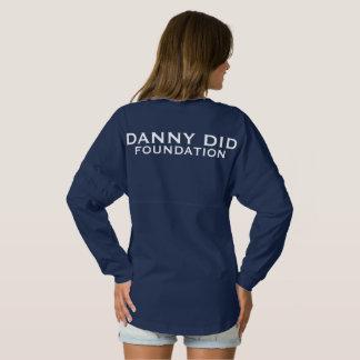 ダニーは精神ジャージー-海軍--をしました スピリットジャージー