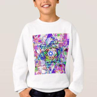ダビデの星の多様性 スウェットシャツ
