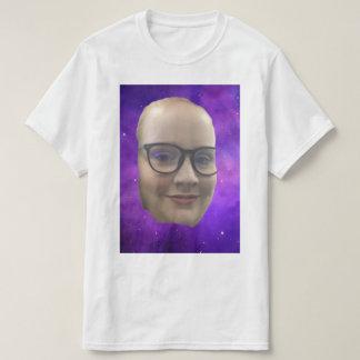 ダビングの顎のティー Tシャツ