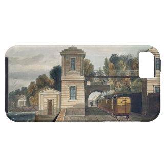 ダブリンおよびキングスタウンの鉄道: 花こう岩のパビリオン iPhone SE/5/5s ケース