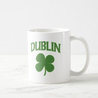 ダブリンのアイルランド人のシャムロック コーヒーマグカップ