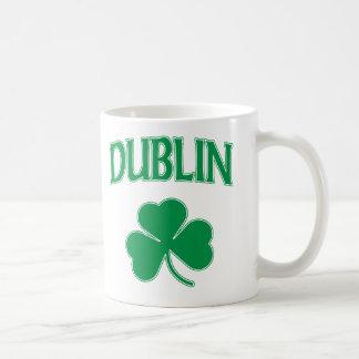 ダブリンのアイルランド語 コーヒーマグカップ