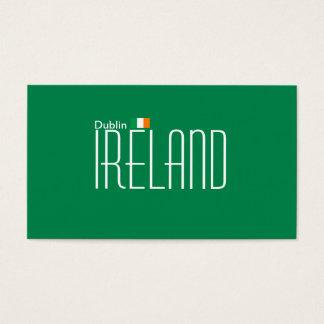 ダブリン、アイルランドの名刺 名刺