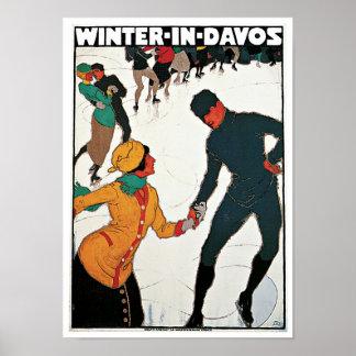 ダボスの冬 ポスター