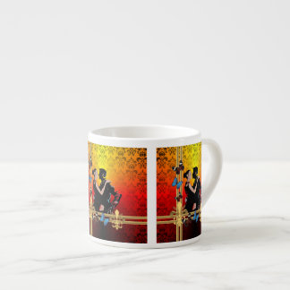 ダマスク織のタンゴ エスプレッソカップ