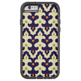 ダマスク織のペーズリーのアラベスクの壁紙パターン TOUGH XTREME iPhone 6 ケース