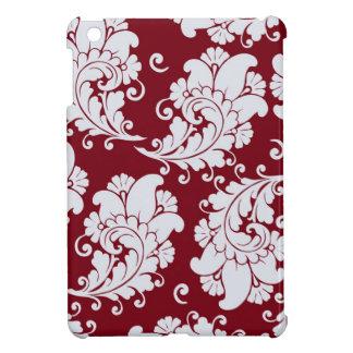 ダマスク織のヴィンテージのペイズリーの壁紙の花柄パターン iPad MINIケース