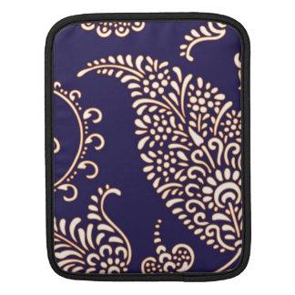 ダマスク織のヴィンテージのペイズリーのiPadの袖 iPadスリーブ