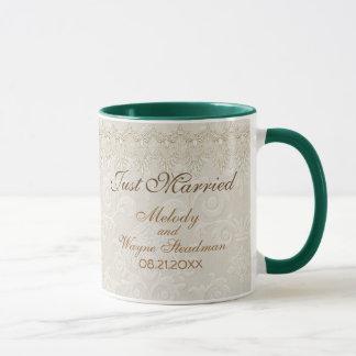 ダマスク織の優雅 マグカップ