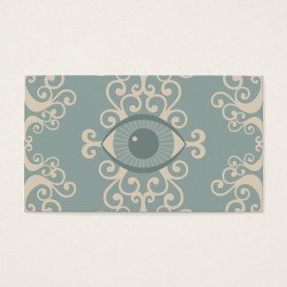 ダマスク織の眼球の霊魂の帯出券 名刺