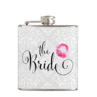 ダマスク織の花嫁のキス フラスク