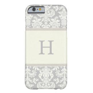 ダマスク織のiPhoneの場合 Barely There iPhone 6 ケース