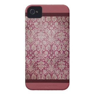 ダマスク織のiPhone 4/4S Case mateの場合 Case-Mate iPhone 4 ケース
