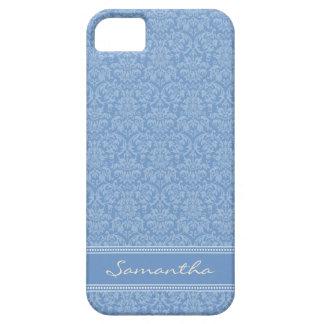 ダマスク織パターンiPhone 5の穹窖の箱(薄紫) iPhone SE/5/5s ケース