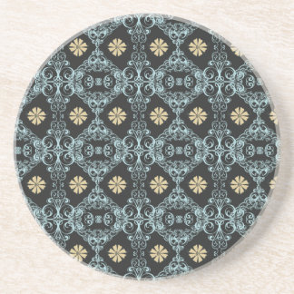 ダマスク織 コースター