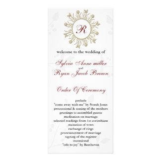 ダマスク織|モノグラム|結婚|プログラム パーソナライズラックカード