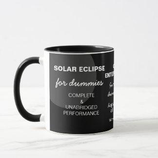ダミーのおもしろいなカスタマイズ可能のための日食 マグカップ