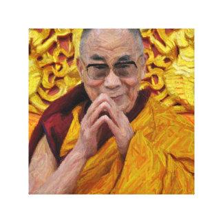 ダライ・ラマ仏の仏教の仏教の黙想 キャンバスプリント