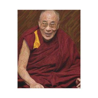 ダライ・ラマ仏の仏教の仏教の黙想Yog キャンバスプリント