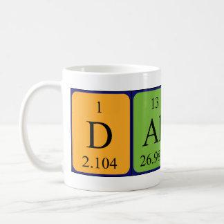 ダラスの周期表の名前のマグ コーヒーマグカップ