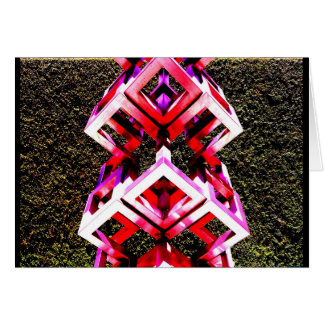 """""""ダラスの彫刻"""" JTGの芸術の挨拶状 カード"""