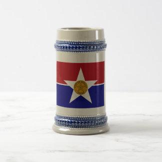 ダラスの旗 ビールジョッキ
