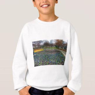 ダラスの植物園および植物園の花壇 スウェットシャツ