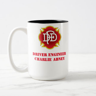 ダラスの火のコーヒー・マグ ツートーンマグカップ