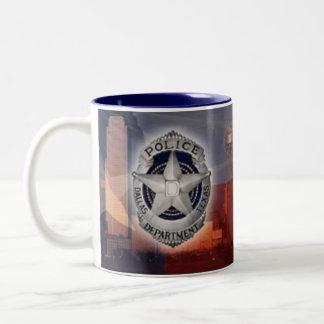 ダラスの警察 ツートーンマグカップ