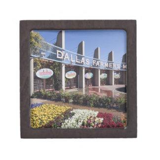 ダラスの農家の市場への入口 ギフトボックス