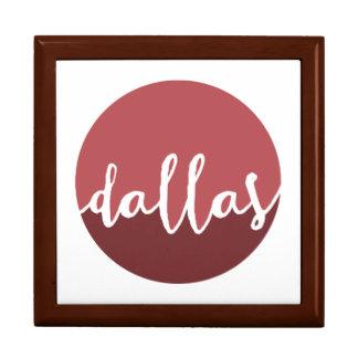 ダラスのTexas|の錆のグラデーションな円 ギフトボックス