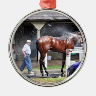 ダラスステュワートの馬小屋 メタルオーナメント