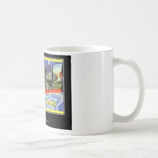 ダラステキサス州からの挨拶 コーヒーマグカップ