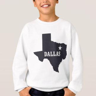 ダラステキサス州米国のカスタムインク スウェットシャツ