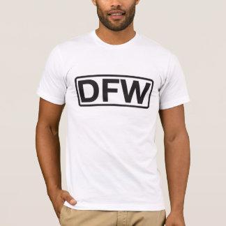 ダラスフォート・ワースの国際空港コード Tシャツ