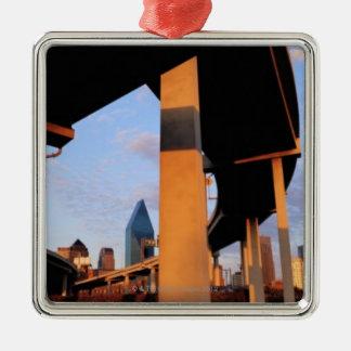 ダラス2の高速道路の跨線橋 メタルオーナメント