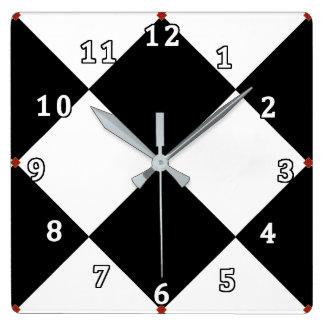 ダラス スクエア壁時計
