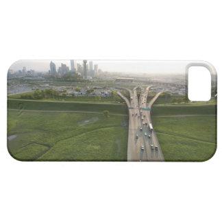 ダラス、テキサス州のハイウェーの空中写真 iPhone SE/5/5s ケース
