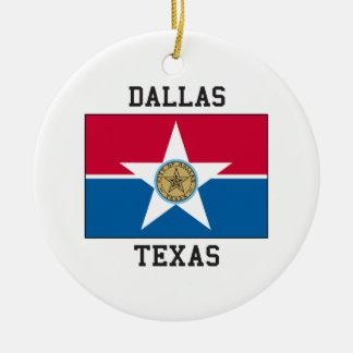 ダラス、テキサス州米国 セラミックオーナメント