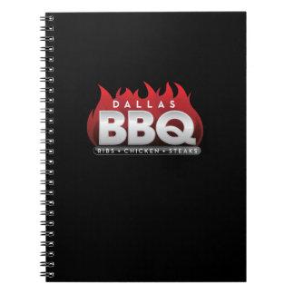 ダラスBBQの写真のノート(80ページB&W) ノートブック