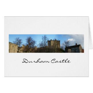 ダラムの城のパノラマ カード
